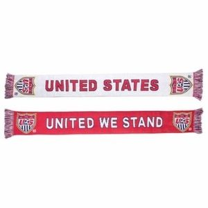 Team USA soccer scarf United We Stand